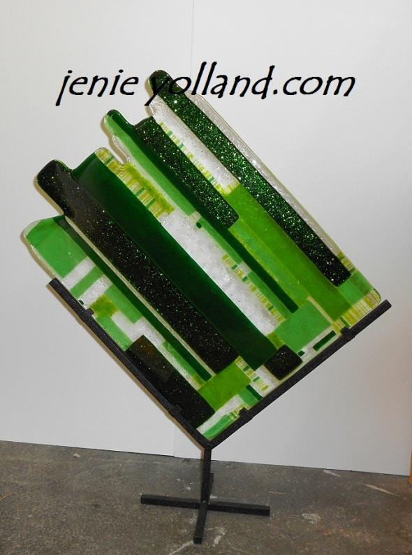 Green Scape by Jenie Yolland