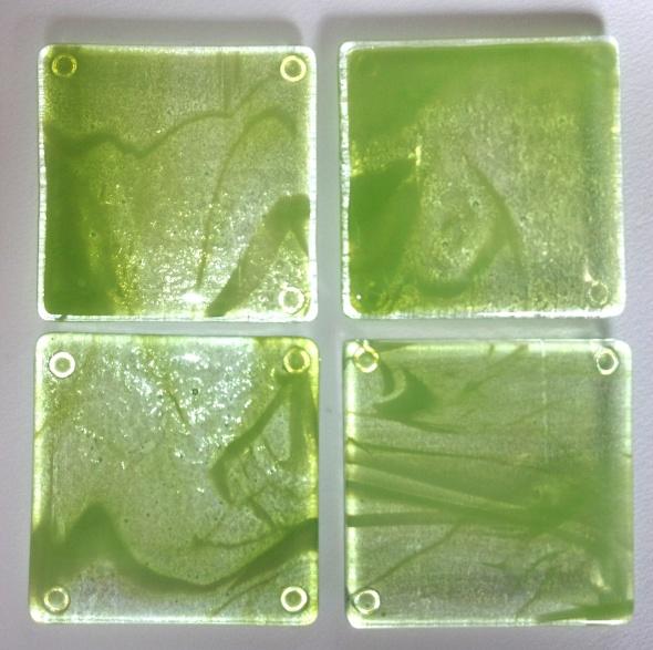 Lime & Lemonade Coasters by Jenie Yolland
