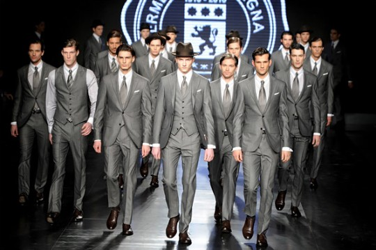 Grey Suits – Zegna FW10 By R.A. Schenck | Published: January 22, 2010