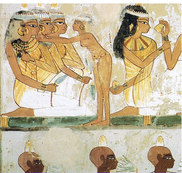 Nakht Tomb paintings