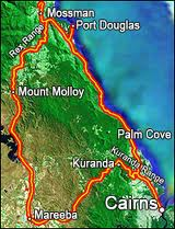 map mosman port douglas etc.