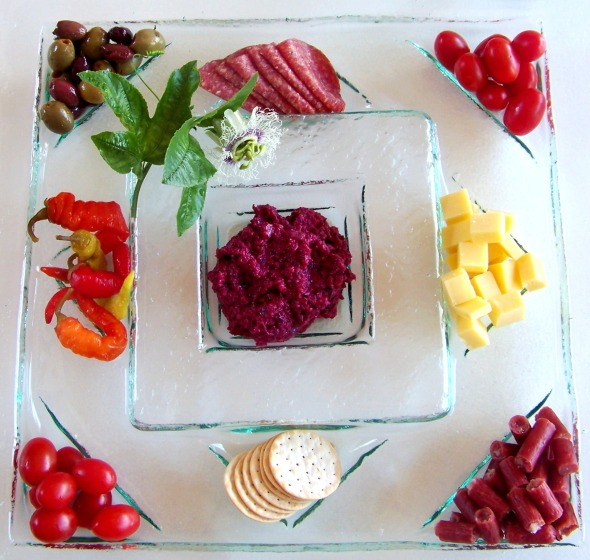 "20"" x 20"" Party Platter by Jenie Yolland"