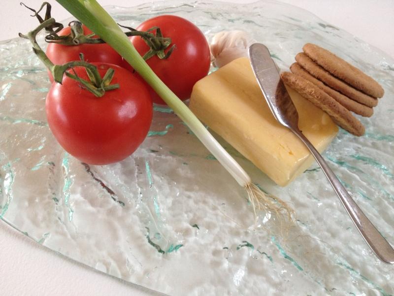 Smaller - 50cm leaf Cheese Board by Jenie Yolland