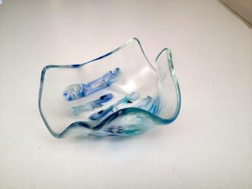 freeform blue by Jenie Yolland
